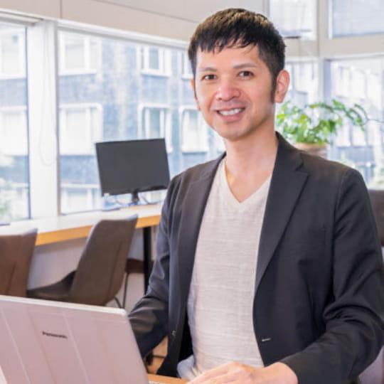代表取締役CEO 藤澤昌隆の写真